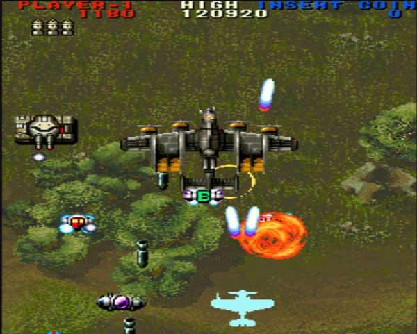 大型游戏机经典游戏-雷龙2