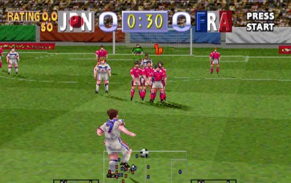 大型游戏机经典游戏-足球世界杯