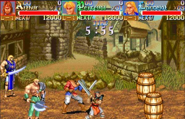 大型游戏机经典游戏-圆桌骑士