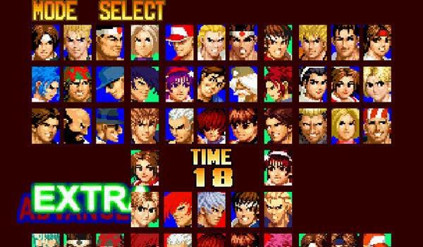 大型游戏机经典游戏-以拳皇97