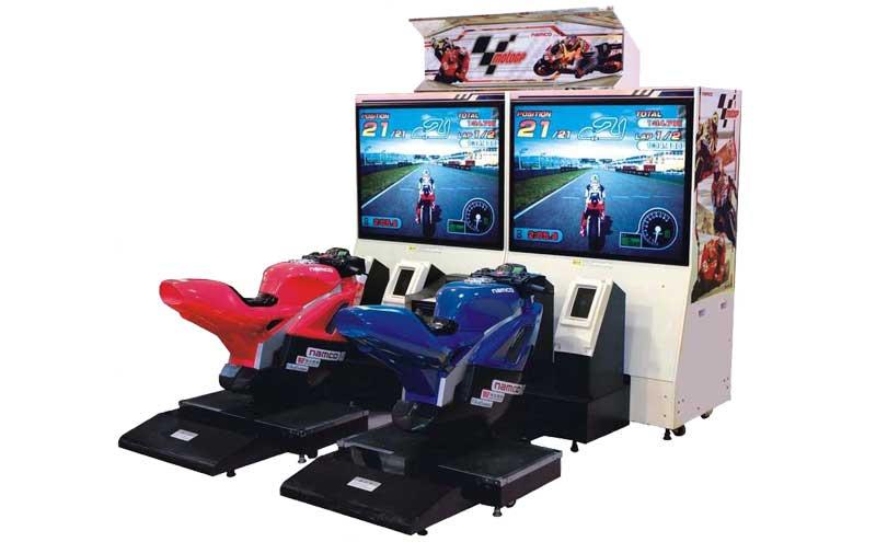 GP摩托车游戏机