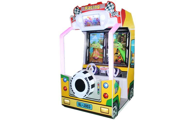 夺宝飞车赛车游戏机