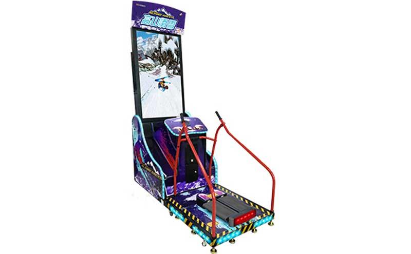 高山滑雪游戏机