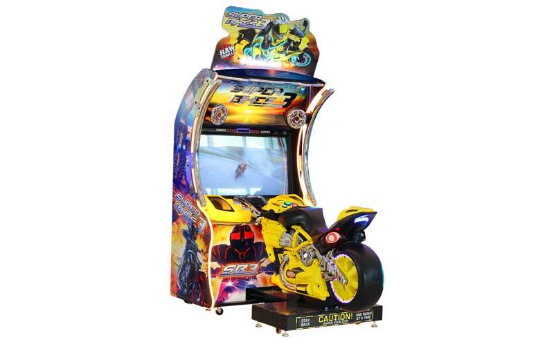 超级摩托3代摩托车游戏机