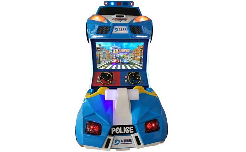 超警联盟赛车游戏机