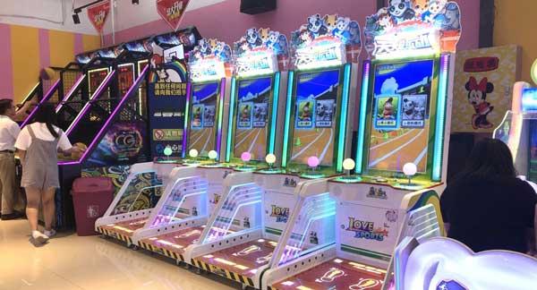 商场电玩城机器都有什么