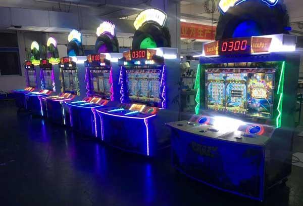 游戏厅里都有什么游戏机